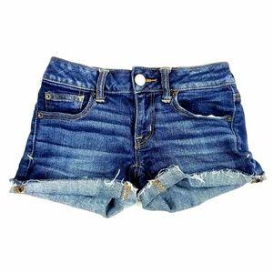 Womens American Eagle Super Stretch Jean Shorts
